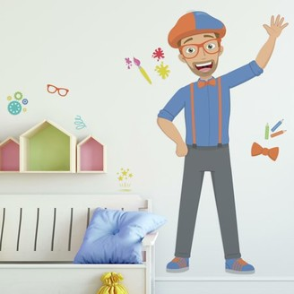 Room Mates RoomMates Blippi Peel and Stick Giant Wall Decals