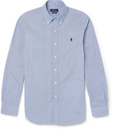Polo Ralph Lauren Slim-Fit Gingham-Checked Cotton Shirt