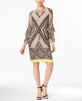 INC International Concepts Printed Sheath Dress, Only at Macy's