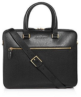Salvatore Ferragamo Revival Leather Briefcase