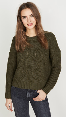 Madewell Acacia Cable Sweater