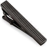 Charles Tyrwhitt Black Lined Tie Clip