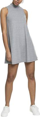 Urban Classics Women's Ladies A-Line Turtleneck Dress