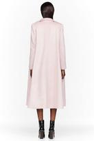 Roksanda Ilincic Pink Textured Orson Coat