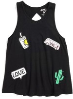 Flowers by Zoe Girl's Patches Tank