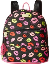Luv Betsey Barrow Cotton Quilted Backpack
