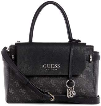 GUESS Small Esme Society Satchel