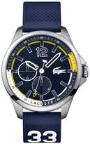 Lacoste Men's Capbreton Navy Silicone Strap Watch