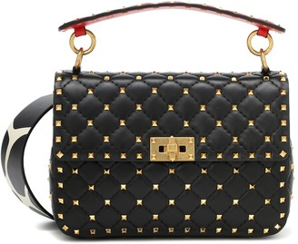 Valentino Spike It leather shoulder bag