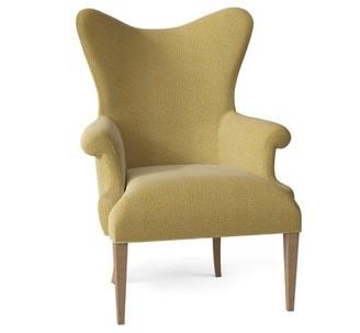 Hekman Tess Armchair Body Fabric: 5576-232, Leg Color: Dove Gray