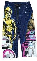 Star Wars Sleepwear Star Wars R2-D2 C-3PO BB-8 Chewbacca Capri Knit Sleep Pants - Large