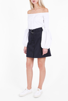 Markus Lupfer Cotton Drill Edie Short Skirt