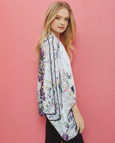 Ted Baker Entangled Enchantment silk cape scarf
