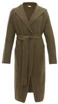Connolly - Hooded Longline Cashmere Cardigan - Mens - Khaki