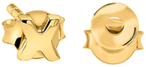 Missoma 18ct Gold Vermeil Hug Kiss Stud Earrings, Gold