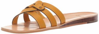 Dolce Vita Women's CAIT Slide Sandal honey leather 5.5 M US