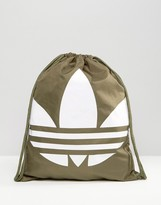adidas Drawstring Backpack With Trefoil Logo