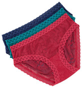 Natori Bliss Cotton Girl Briefs, Raspberry