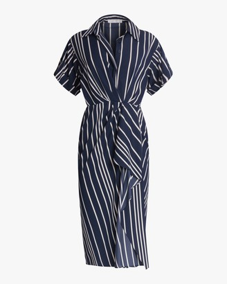 Jason Wu Collection Ruffled Surplice Midi Dress