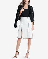 Lauren Ralph Lauren Pleated Crepe Skirt