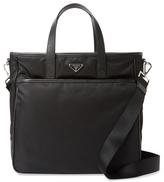 Prada Tessuto Saffiano Tote Bag