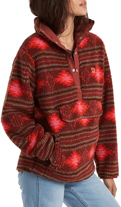 Billabong Switchback Faux Shearling Pullover