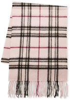 Fraas Signature Plaid Cashmere Scarf