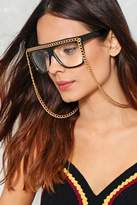 Nasty Gal nastygal Chained to the Beat Square Glasses