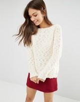 Glamorous Textured Sweater