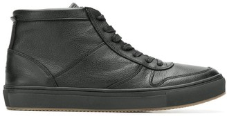 Tommy Hilfiger hi-top leather sneakers