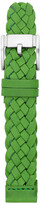 Fossil Leather 18mm Watch Strap - Green