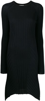 Helmut Lang ribbed day dress