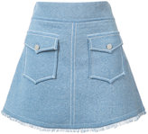 Derek Lam 10 Crosby A-line pocket skirt - women - Cotton - XS