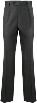 Gieves & Hawkes fine knit straight leg trousers