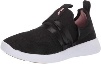 Etnies Women's Vanguard W's Skateboarding Shoes (Black 001) 3.5 UK