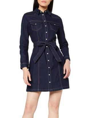 Dorothy Perkins Women's Denim Western Shirt Dress