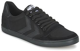 Hummel TEN STAR TONAL LOW men's Shoes (Trainers) in Black