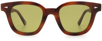 AHLEM Bonne Nouvelle Brown Turtle Sunglasses