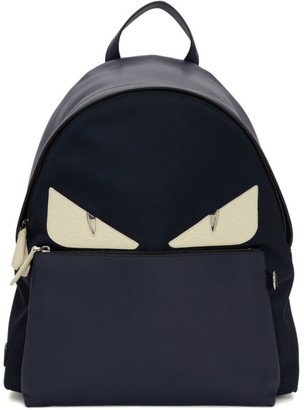 Fendi Navy Bag Bugs Backpack