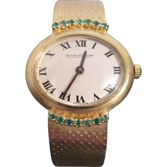 Jaeger-LeCoultre Vintage Yellow Yellow gold Watches