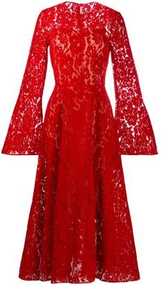 Christopher Kane Flock Lace Dress