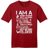 ThisWear I am a Welder, Badass Welding Gift Young Mens T-Shirt