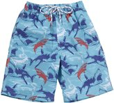 E-Land Kids Shark Shorts (Toddler/Kids) - Aquarius-8