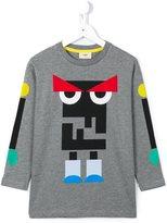 Fendi monster print T-shirt