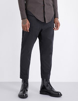 Damir Doma Tapered cotton-twill trousers