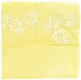 P.A.R.O.S.H. lace trim scarf