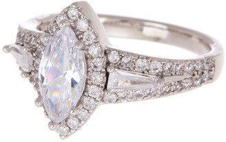 Marquis CZ Engagement Ring