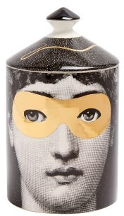 Fornasetti Golden Burlesque Scented Candle - Black Gold