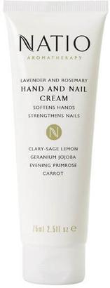 Natio Lavender And Rosemary Hand & Nail Cream (75ml)