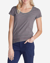 Eddie Bauer Women's Lookout Short-Sleeve T-Shirt - Stripe